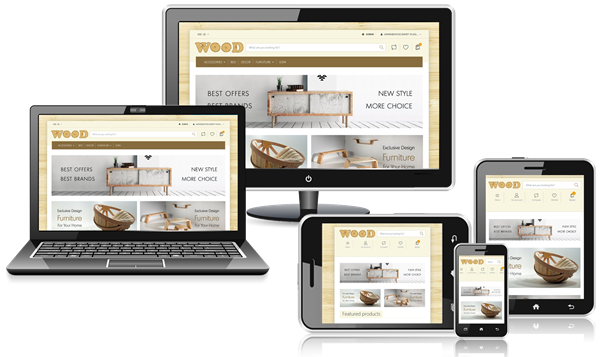 Picture of Smart Wood Responsive Theme